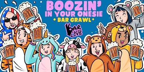 Boozin' In Your Onesie Bar Crawl | New York, NY - Bar Crawl Live tickets