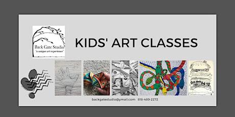 Kids' Art Classes tickets