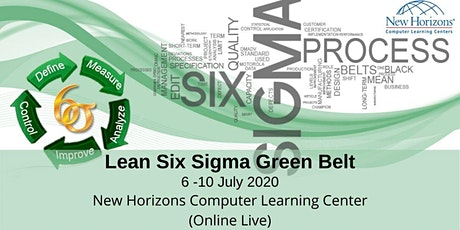 Lean Six Sigma Green Belt tickets
