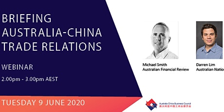 Briefing: Australia-China Trade Relations tickets