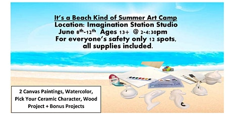 Under the Sea Summer Art Camp, Age Group 13+ tickets