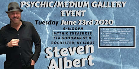 Steven Albert: Psychic Gallery Event - Mythic Treasures 6/23 tickets