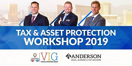 3 Day Tax and Asset Protection Workshop in Las Vegas! tickets