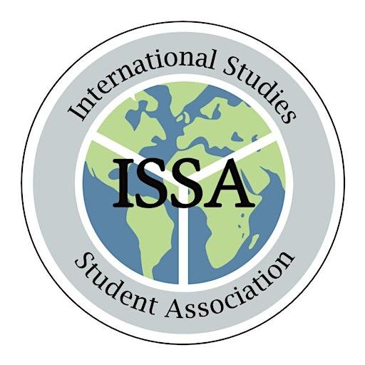 SFU International Studies Student Association logo