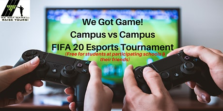 FREE Campus vs.Campus  - FIFA20 1v1 Team Online Event tickets