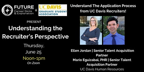 FUTURE and GSA Present: The Recruiter's Perspective tickets