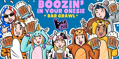 Boozin' In Your Onesie Bar Crawl | Raleigh, NC - Bar Crawl Live tickets