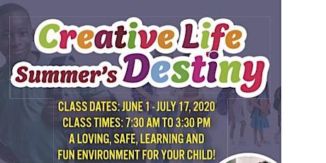 Creative Life Summer's Destiny Camp tickets