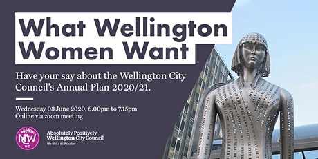 What Wellington Women Want 2020 tickets