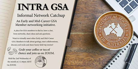INTRA GSA  (Informal NetwoRk cAtchup for GSA Members): E-coffee catch-ups tickets