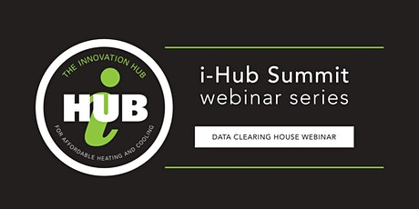 i-Hub Summit - Data Clearing House Webinar tickets