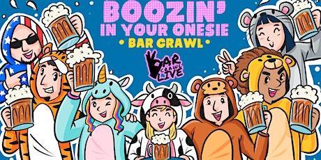 Boozin' In Your Onesie Bar Crawl | Columbus, OH - Bar Crawl Live tickets