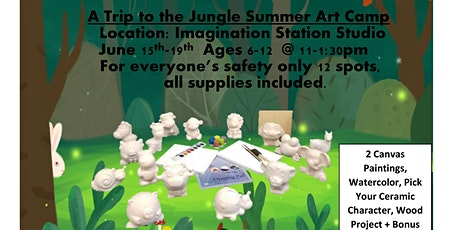A Trip to the Jungle Summer Art Camp Age Group 6-12 tickets
