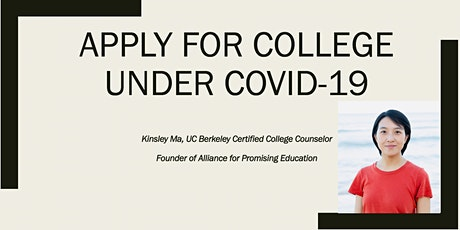 Apply for College Under COVID-19 tickets
