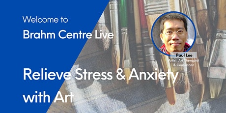 Webinar: Relieve Stress & Anxiety with Art tickets
