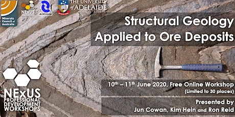 NExUS-PD Workshop: Structural Geology Applied to Ore Deposits tickets