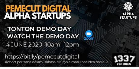 Pemecut Digital Alpha Startups: Virtual Demo Day tickets