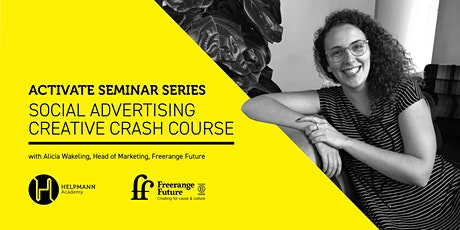Social Advertising Creative Crash Course tickets