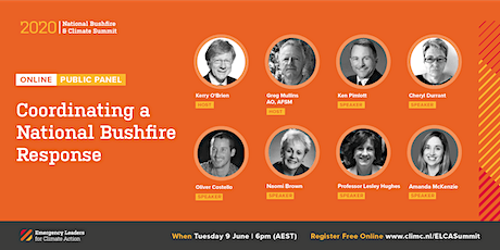 National Bushfire and Climate Summit 2020: Coordinating a National Response tickets