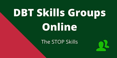 DBT Online Skills Group - The STOP Skills tickets