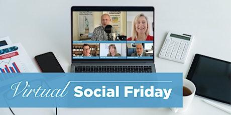 Virtual Social Friday 21. august 2020 billets