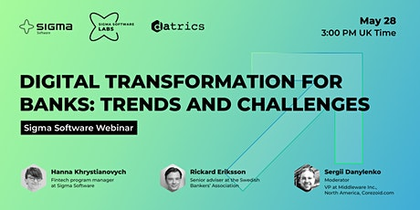 Digital Transformation for Banks: Trends and Challenges tickets