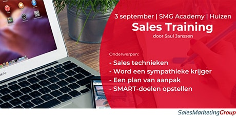 SMG Academy | Sales Training | 3 sept 2020 tickets