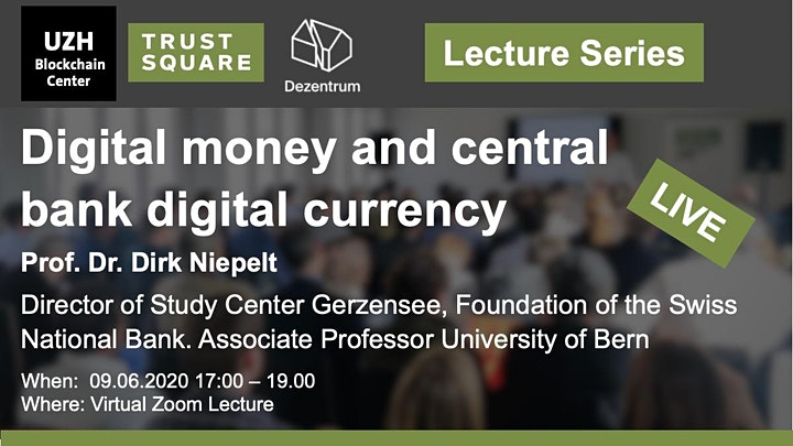 Lecture Series (online): Digital money and central bank digital currency image