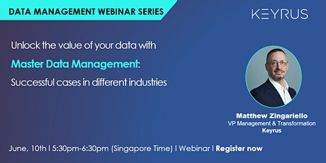 [Webinar] Best practices & successful cases for Master Data Management tickets