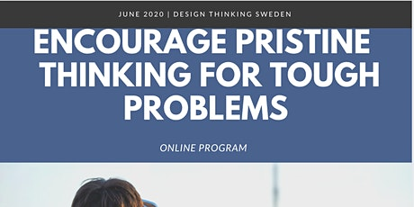 Encourage Pristine  Thinking For Tough Problems tickets