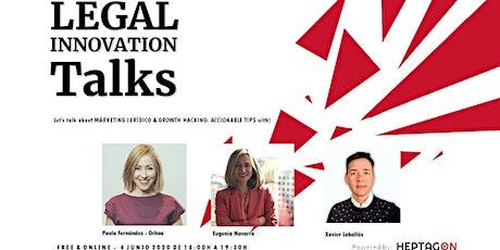 LIT: Márketing Jurídico y Growth Hacking: Accionable Tips entradas