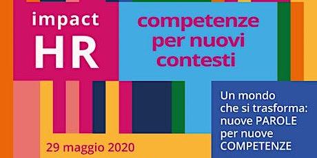 Impact HR: competenze per nuovi contesti@MDW biglietti