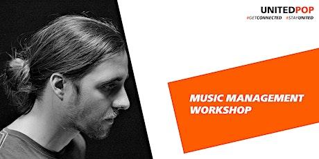 Online Workshop: Pristop k glasbenemu samozaložništvu tickets