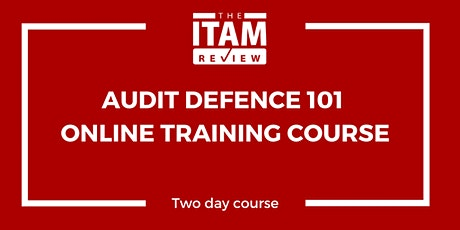 Audit Defence 101 Online Training Course – June 2020 tickets