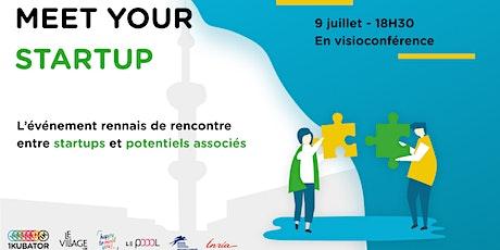 Meet your startup - Quand startups et potentiels associés se rencontrent tickets