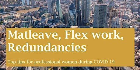 From Mat Leave to Flex Working + Redundancies in COVID-19 tickets