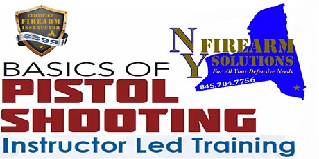 Interactive Zoom Conference • Basic Pistol Safety Course • Eve. Session tickets