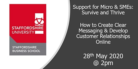 How to Create Clear Messaging & Develop Customer Relationships Online tickets