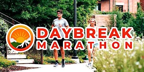 Daybreak Marathon Virtual 5K/10K/Half-Marathon BOSTON tickets