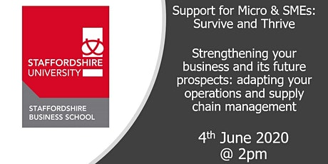 Strengthening your business and its future prospects tickets