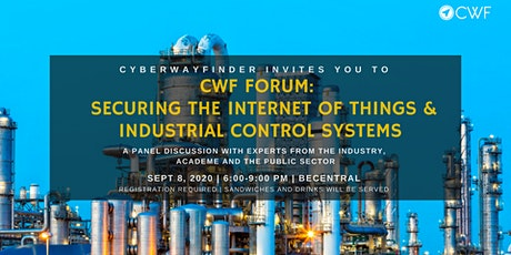 CWF Forum: Securing the `Internet  of Things and Industrial Control Systems tickets