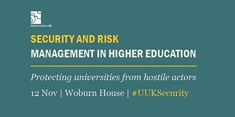 Security and risk management in higher education tickets
