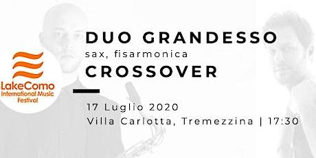 CROSSOVER - Duo Grandesso (sax e fisarmonica) biglietti