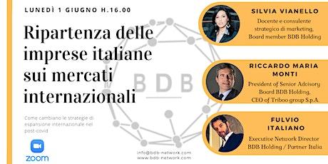 La ripartenza con BDB Network biglietti