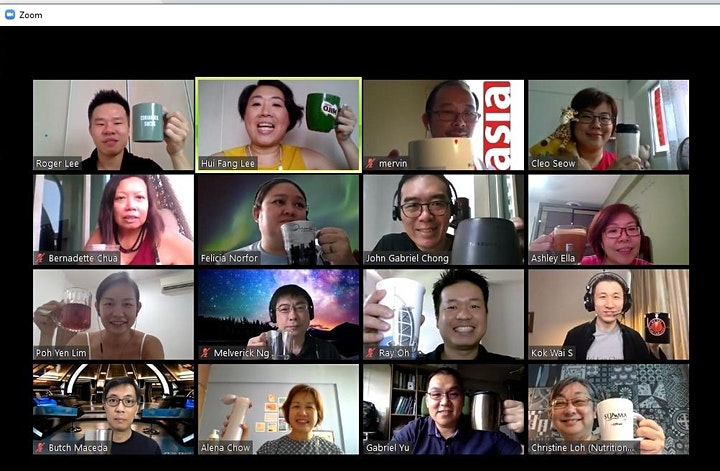 INA Coffee & Conversations (Online) - May 2021 image