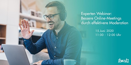 Bessere Online-Meetings durch effektivere Moderation Tickets