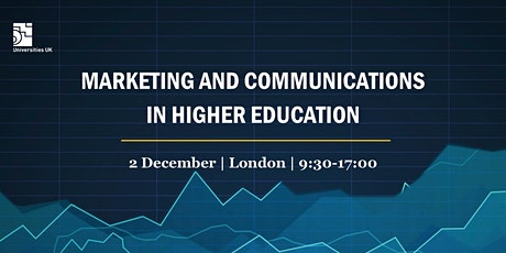 Marketing and communications in higher education tickets