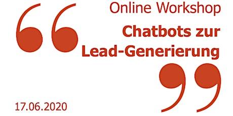 Chatbots zur Lead-Generierung - Hands-On Workshop biglietti
