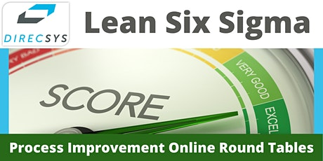 12 Weekly Online Round Tables - Lean Six Sigma tickets