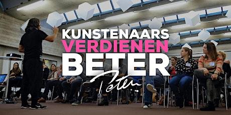 Kunstenaars Verdienen Beter zaterdag 6 juni 2020 (Max 30 personen) tickets